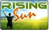 RISING SUN phone card
